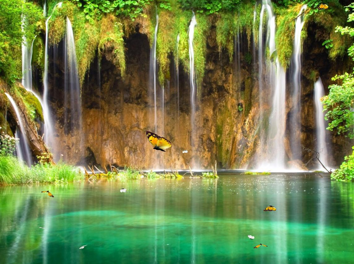 Charm Waterfall Screensaver