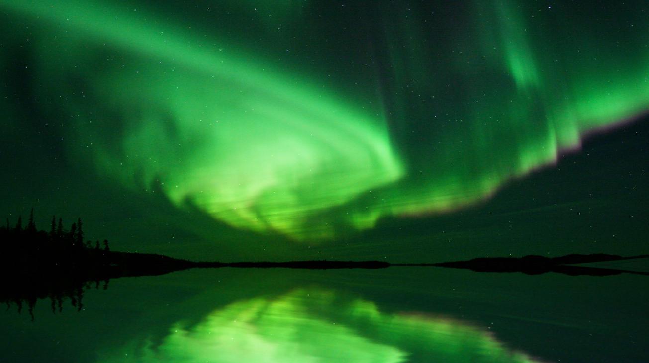 Beautiful Aurora Boreal Screensaver