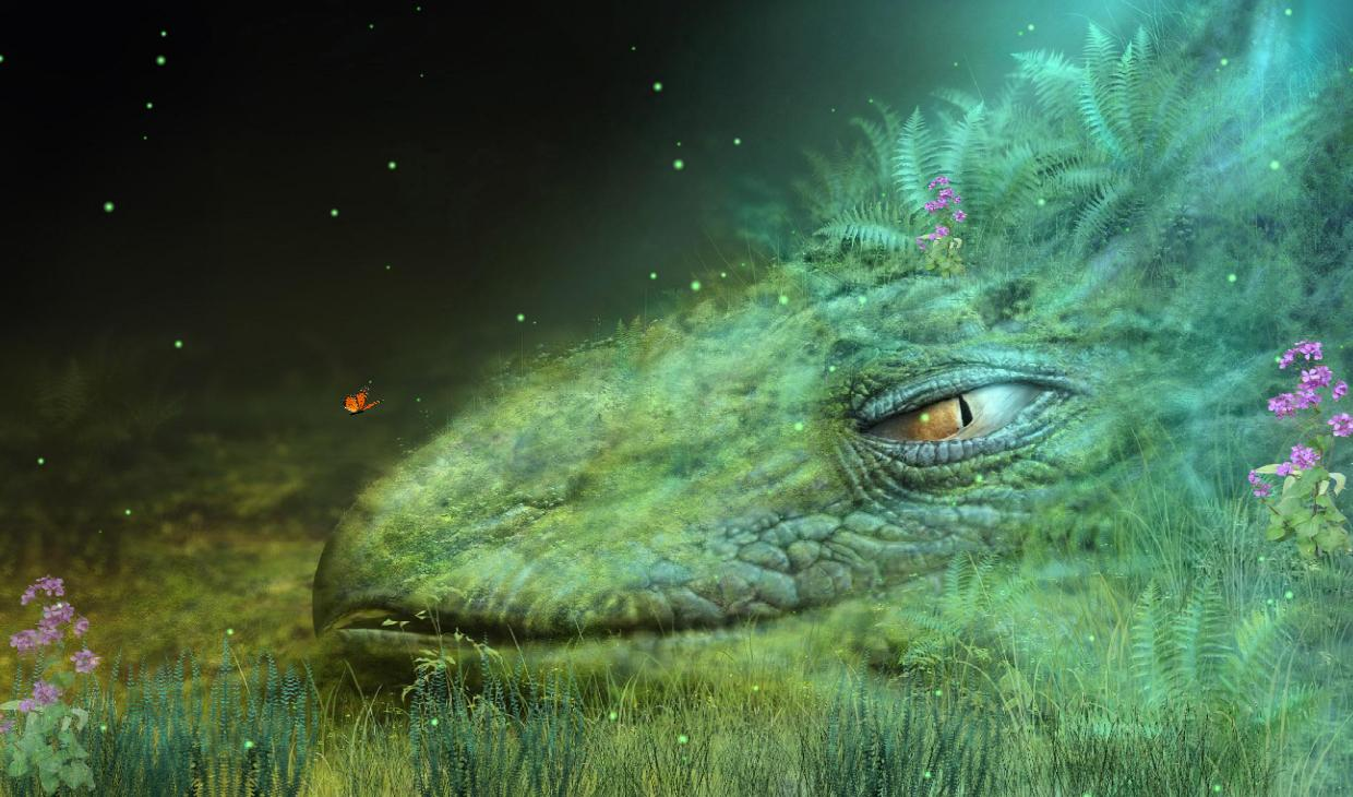 Click to view Fantasy Creature Screensaver 1.0 screenshot