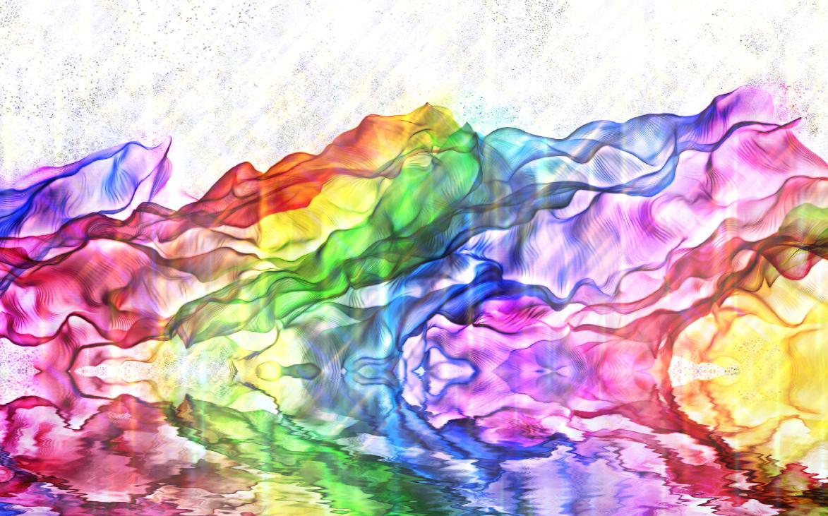 Flowing Colours Screensaver