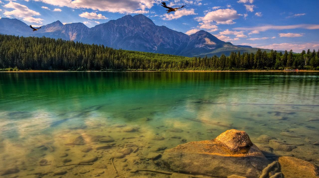 Green Lake Mountain Screensaver