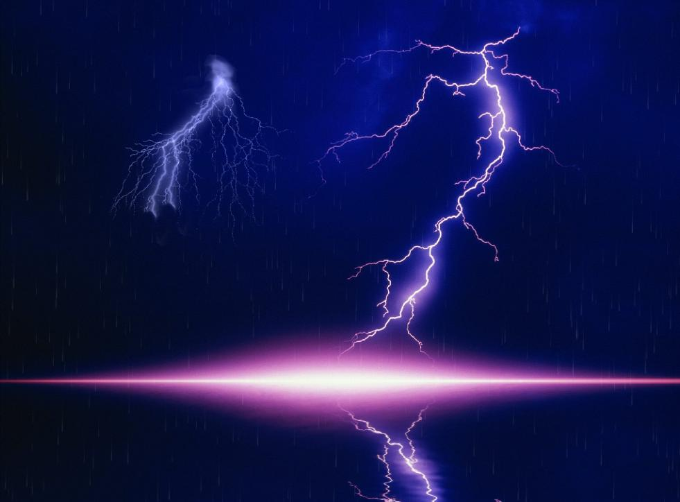 Lightning Bolt Screensaver screenshot