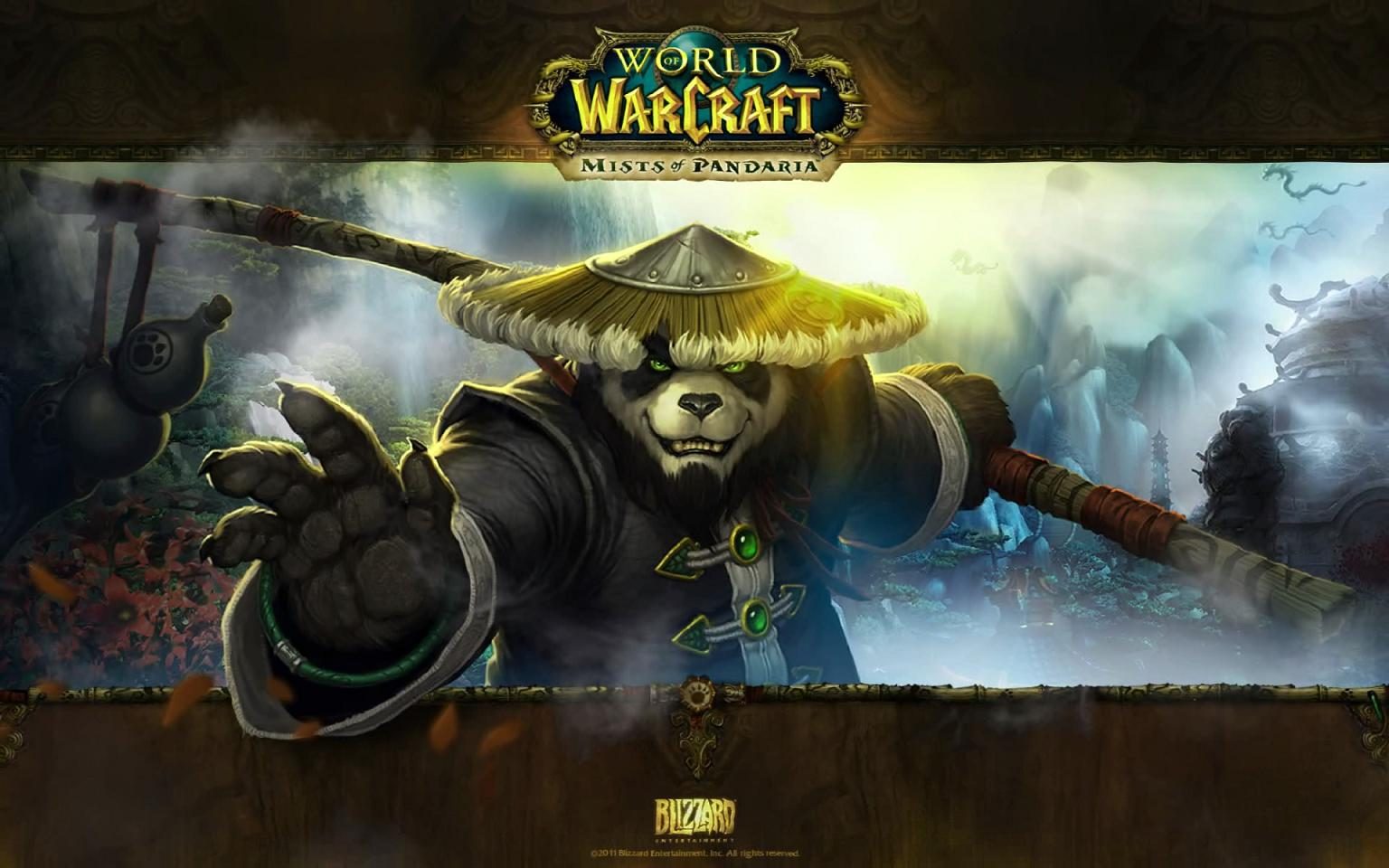 Mists of Pandaria Screensaver