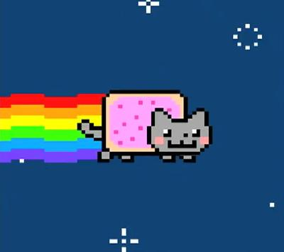 Nyan Cat Screensaver software screenshot
