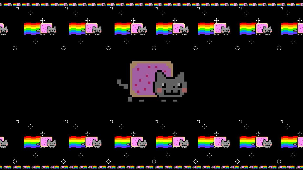 Nyan Pop Tart Cat Screensaver screenshot