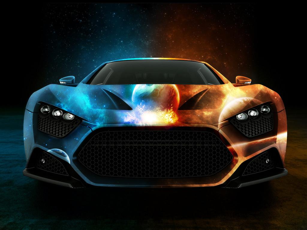 World Amazing Cars Screensaver