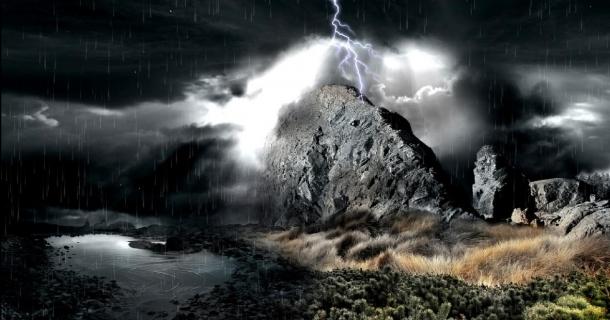 Download Beautiful Rain Screensaver