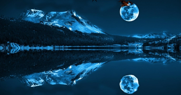 Blue Moon Screensaver