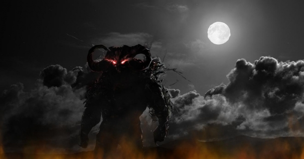 Evil Demon Screensaver