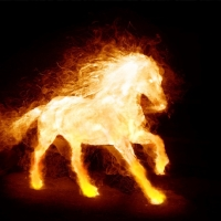 Fire Horse Screensaver