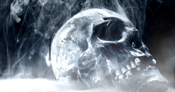 Screen Saver Fire Skull Screensaver