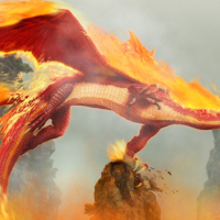 Fire Dragon Screensaver