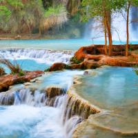 Hide Waterfall Screensaver