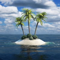 Lost Island Screensaver