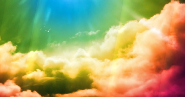 Rainbow Screensaver