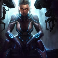 Sarah Kerrigan StarCraft 2 Screensaver