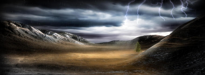 ThunderStorm Screensaver