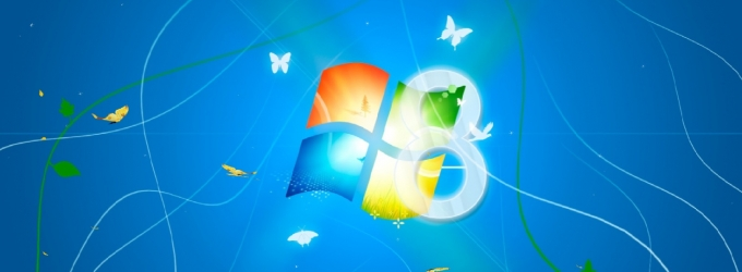 Windows 8 Light Animated Screensaver